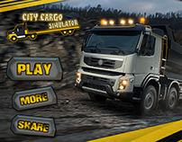 City Cargo Game Graphics and UI Design