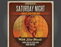 Saturday Night Flyer