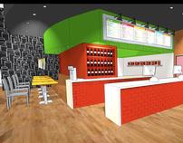 Presto Pasta - Commercial restaurant design