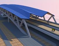 Imaginary new station for Tilburg