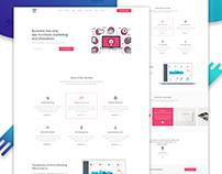 Traffic - Marketing Agency Website Concept