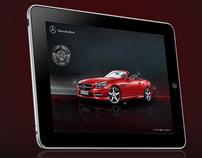 Mercedes Benz: SLK  ( Pre-sales Application )