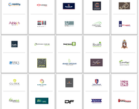 50 logos from our portfolio