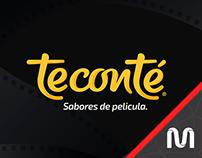 Teconté «Sabores de Película» // Re-branding