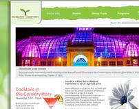 Franklin Park Conservatory Web Design