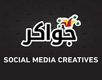 Jawaker Social Media Creatives