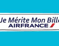 Air France : je mérite mon billet (website)