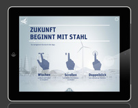 iPad App German Steel Community