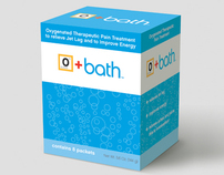 O+Bath™ Bath Salts Packaging