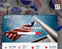 Politic WordPress Theme - Candidate Campaign