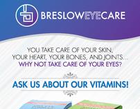 Breslow Eye Care - Vitamin Poster