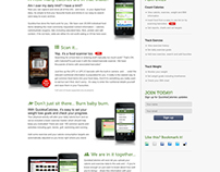 Quickka Calories iPhone website