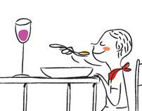 """Cartoons for the newspaper """"O Estado de S. Paulo"""""""