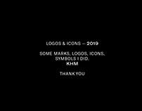 SOME LOGOS & ICONS — 2019