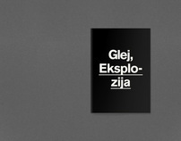 Glej Theatre / Visual Identity