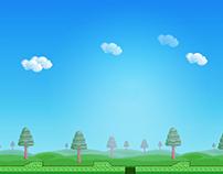 """Sario"" Game Background"