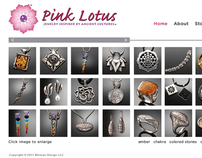 Pink Lotus Jewelry Website