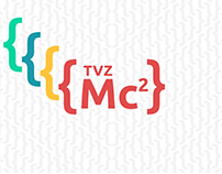 TVZ Mc2 2018 branding, materials & website