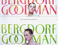 Bergdorf Goodman X The NYTimes, Painted Logos