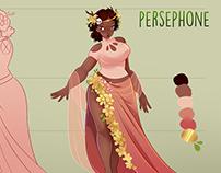 Character Design: Persephone