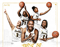 2018-19 Toledo Women's Basketball Poster