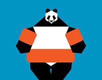 Panda vacation