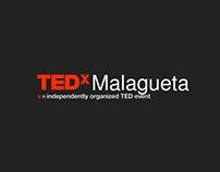 TEDx Malagueta logo animation