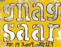 Gnagsaar - Magazine cover