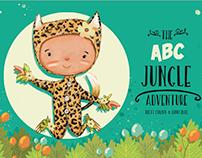 The ABC JUNGLE ADVENTURES BOOK.