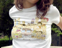 "T-shirt #1 ""Professeur Zembrouille"" - for Girl"