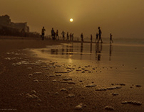 Sunset in Layène