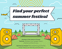 Cheap Flights: Find your perfect summer festival