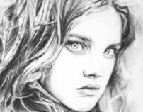 Nataliya Vodianova Portrait