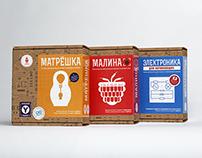 Amperka DIY-electronic Kit package design