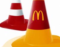 Mcdonald's Road Cone