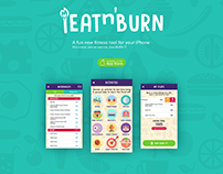 iEatnburn App Redesign