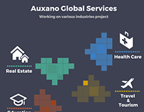 Auxano global services various industrie project in IT