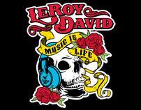 Logo Design for LeRoy David Clothing Company