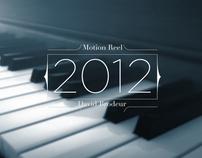 - Motion Reel 2012 -