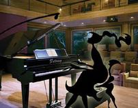 Pianissimo - Piano Club Branding