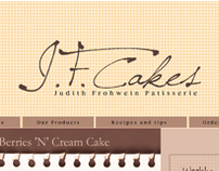 JFCakes- Branding | Web Development & Design