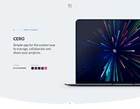 Cero - A project management app concept