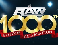 WWE 1000th Raw : Evolution of Raw Sets