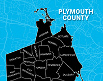Plymouth County Map