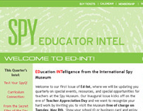International Spy Museum Educator Newsletter
