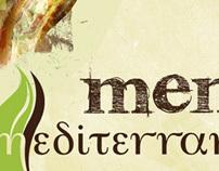 Menú Mediterraneo Café