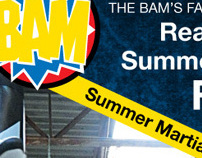The BAMS Summer Camp Flyer