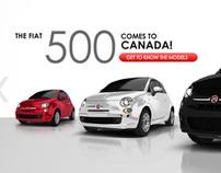 Fiat mobile website