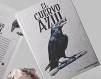 - EDITORIAL - Portada Libro Cuervo Azul