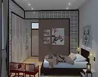 Simple & Stylish Chinese Bedroom Design